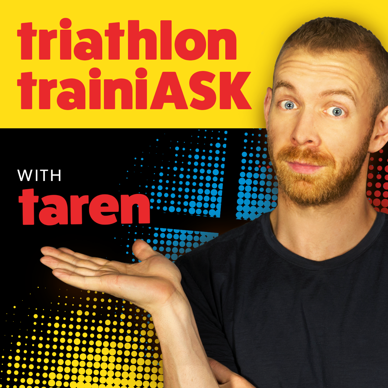 Triathlon Trainiask Podcast Logo