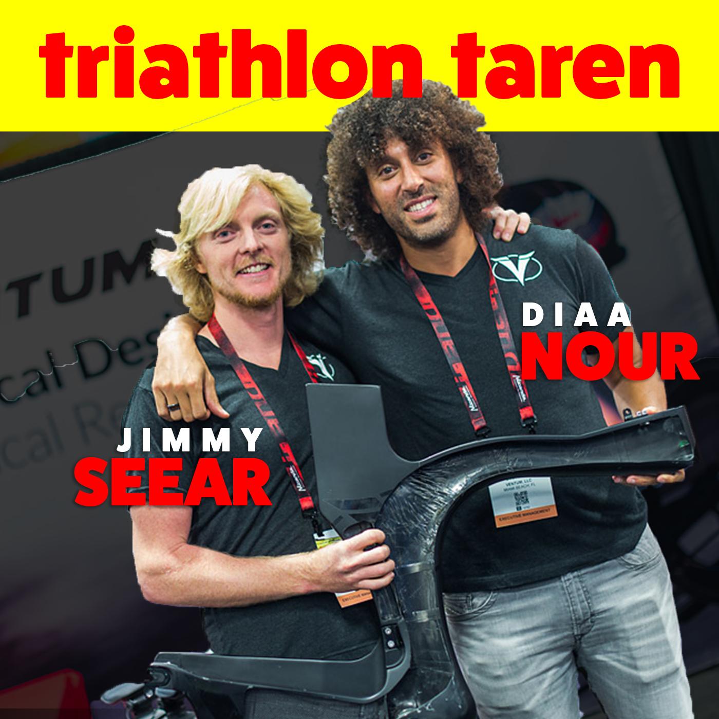 Ventum Bike Founders Jimmy Seear & Diaa Nour talk $32,000 bikes, Negative Reviews, Triathlon Startups
