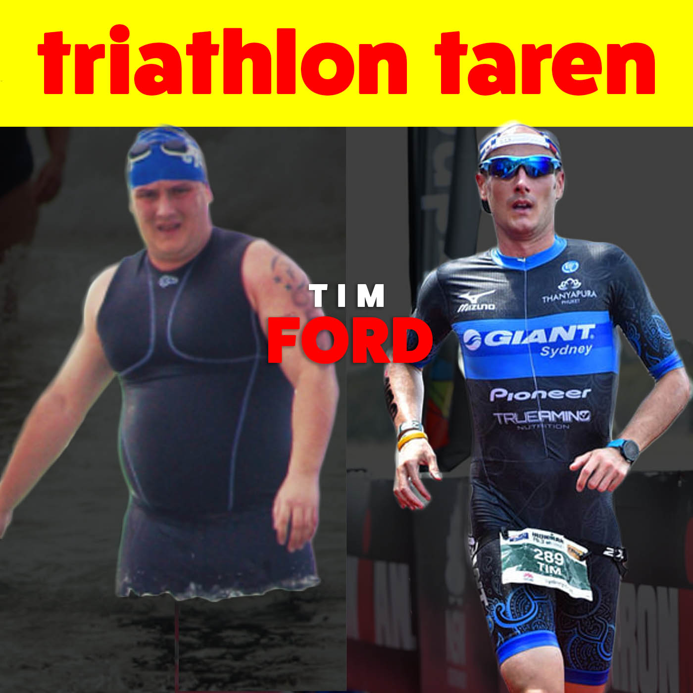 From 264lbs to 70.3 World Championships | Tim Ford, Triathlete and CEO of MaccaX Tri Team