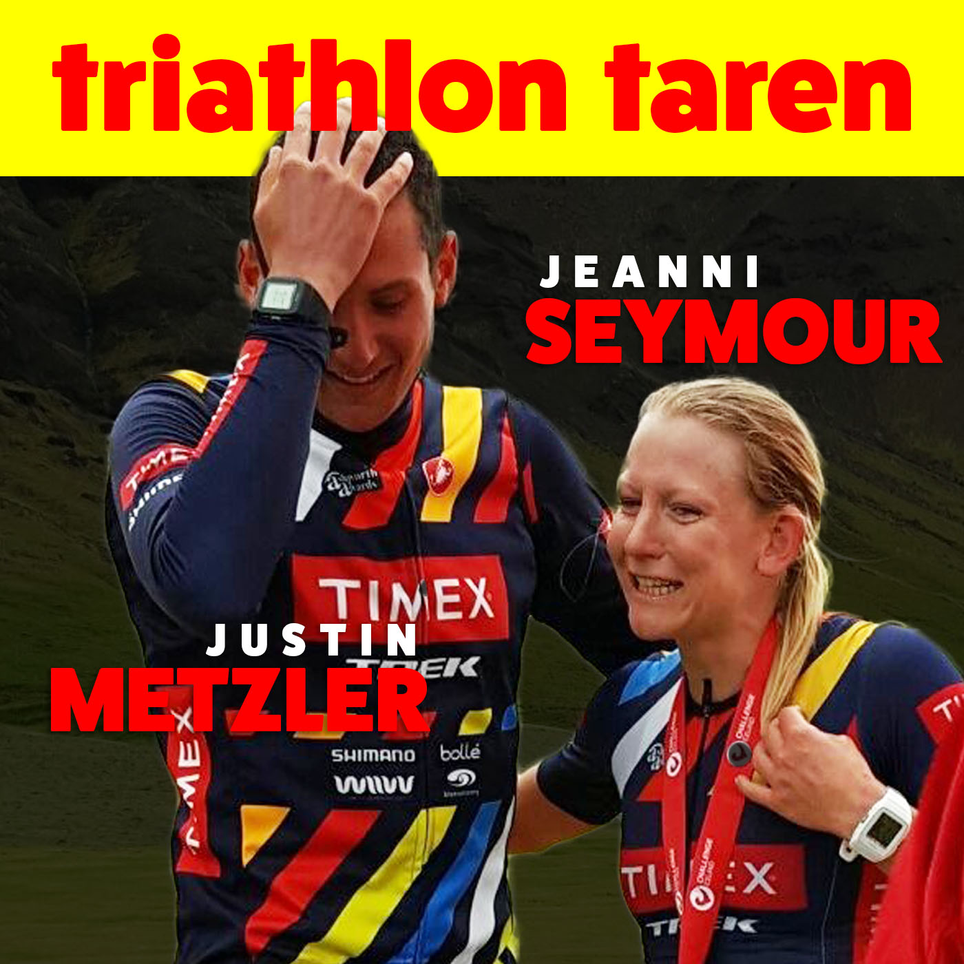 Jeanni Seymour & Justin Metzler on Biking Without a Saddle and How to Pick Up a Pro Triathlete