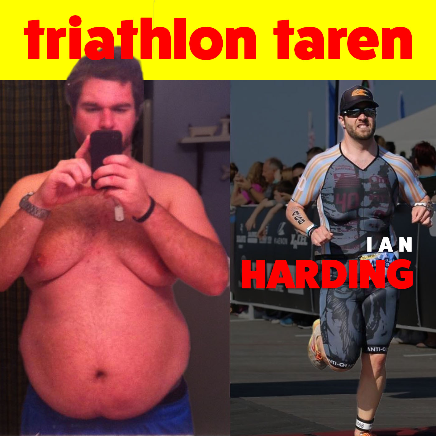 Obese and bullied, triathlete Ian Harding lost 100 lbs and helps others get healthy