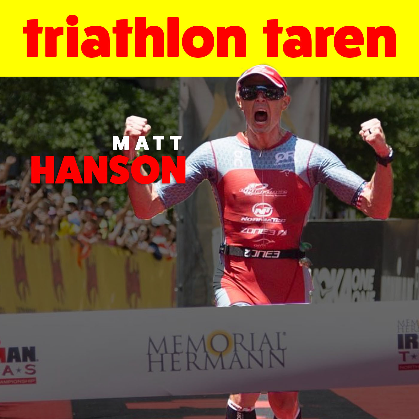 Winner of 2018 Ironman 70.3 CDA, Pro Triathlete Matt Hanson