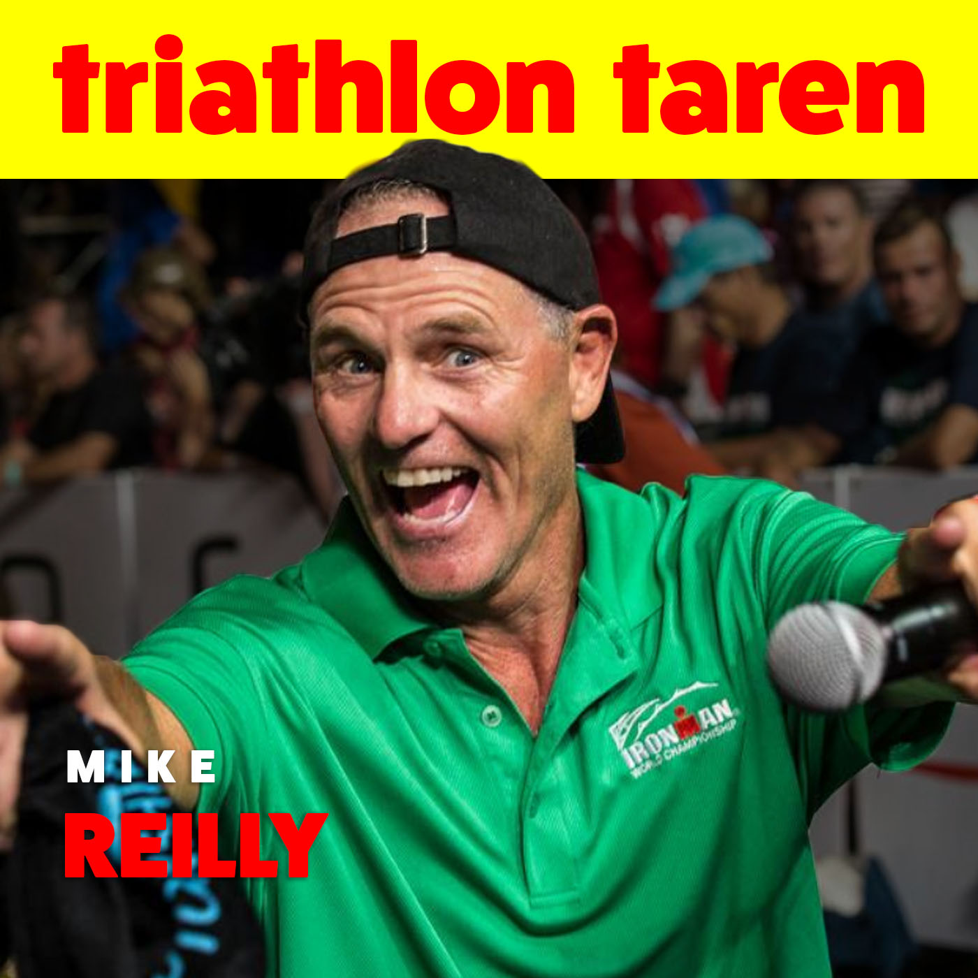 Triathlon inspiration from the voice of Ironman Mike Reilly | Finding My Voice