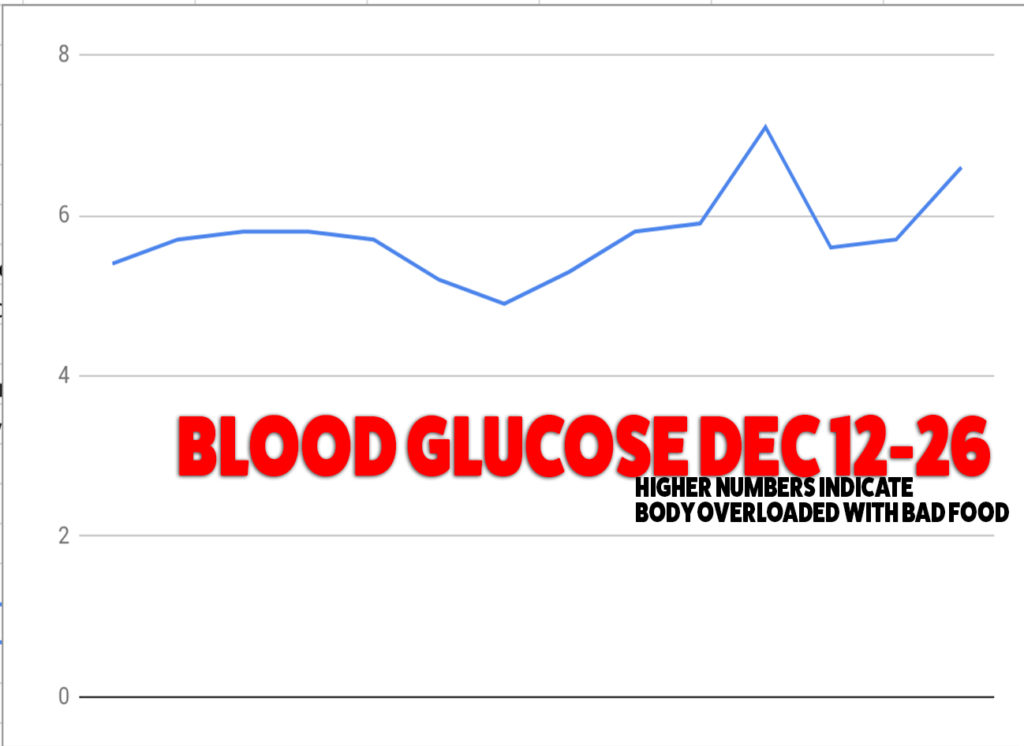 Fasting Blood Glucose during Holidays