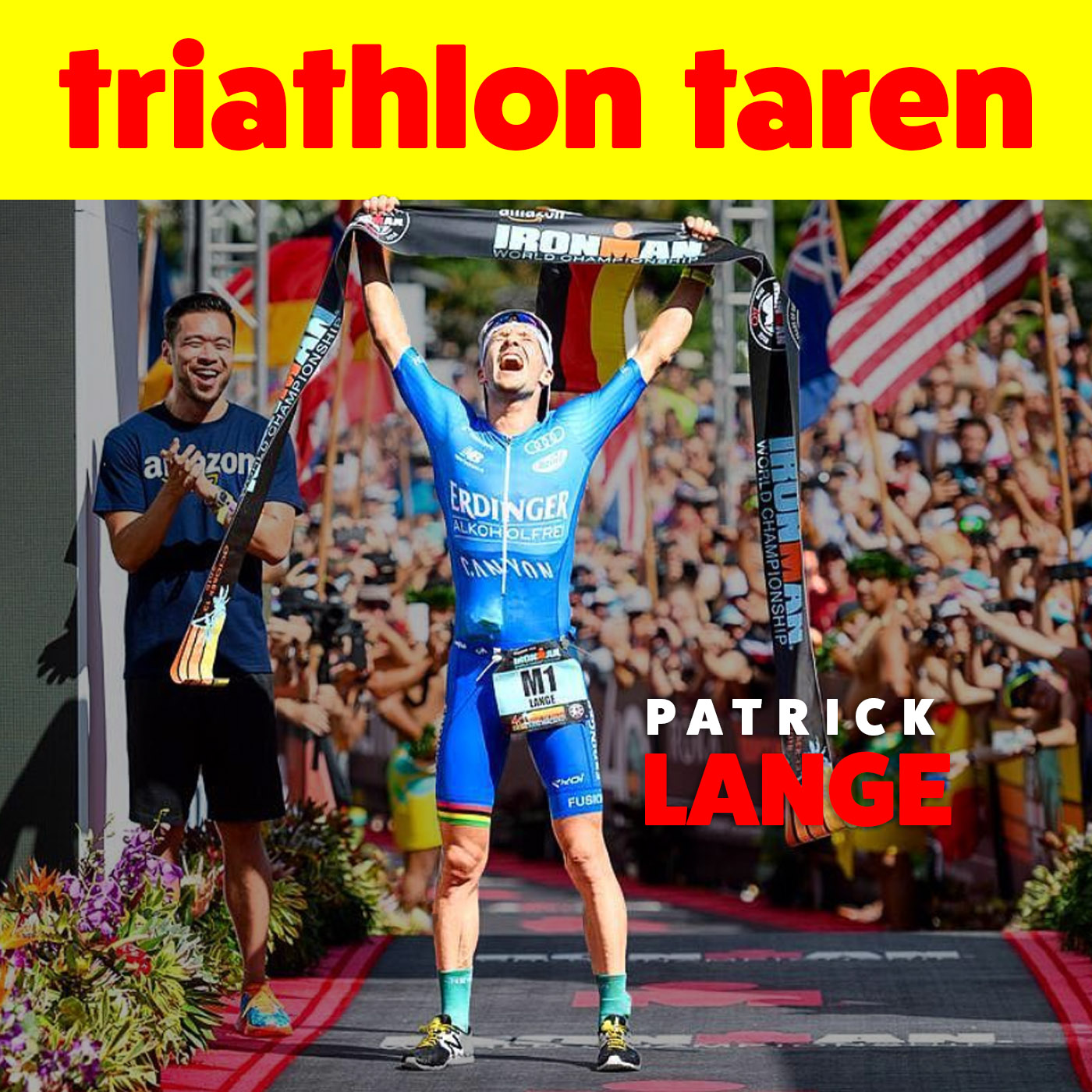 Patrick Lange | 2018 Ironman Kona World Champion
