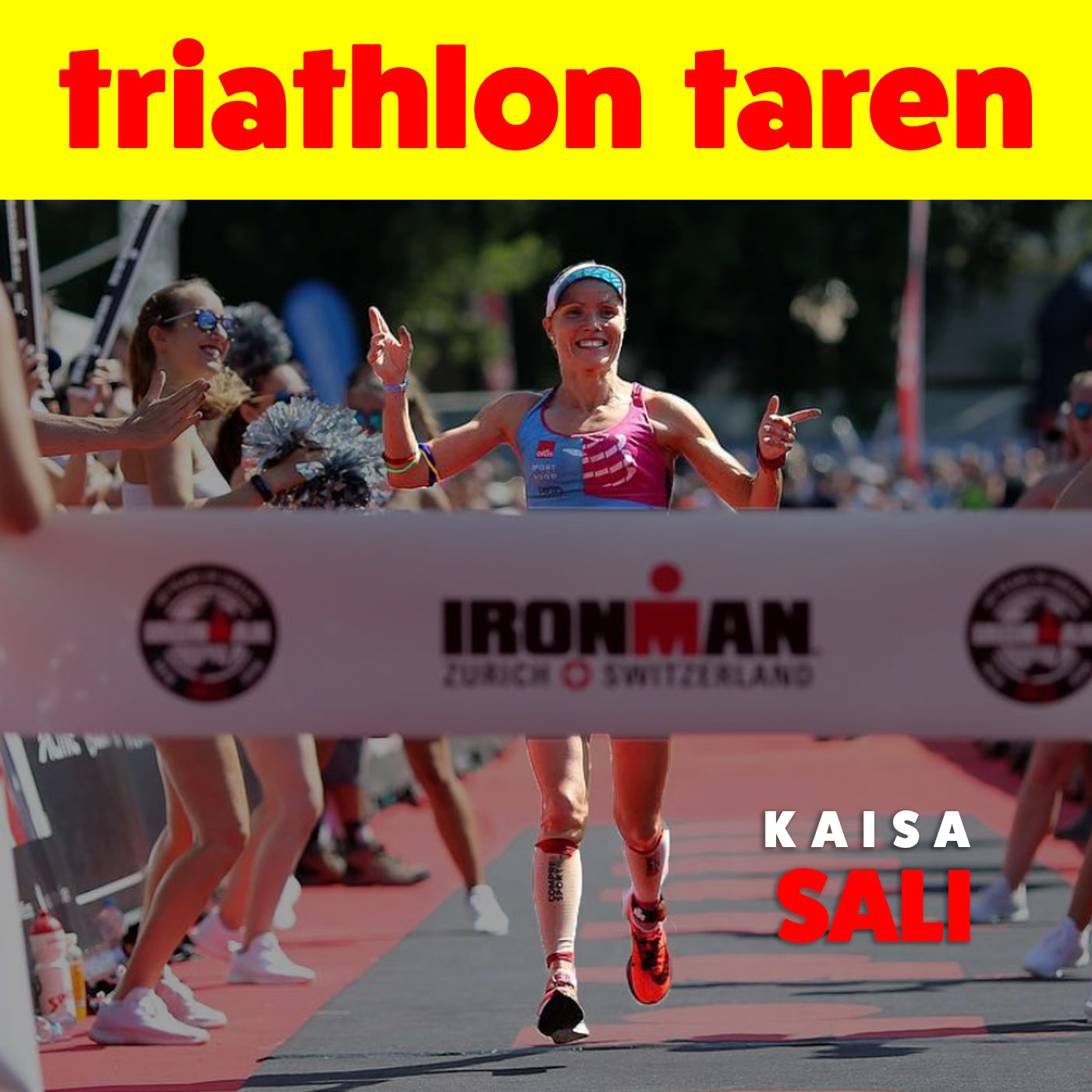 Taking a laid back approach to triathlon | Pro Kaisa Sali