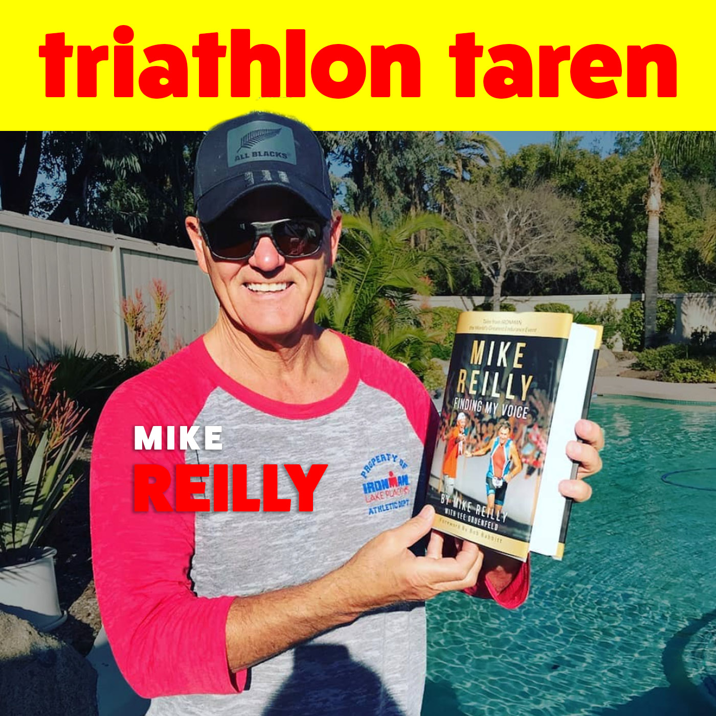 Voice of Ironman Mike Reilly New Book
