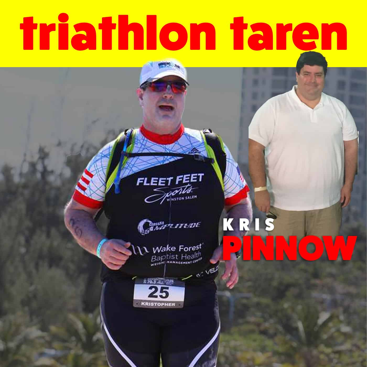 Weight Loss Transformation Triathlon Story | Kris Pinnow