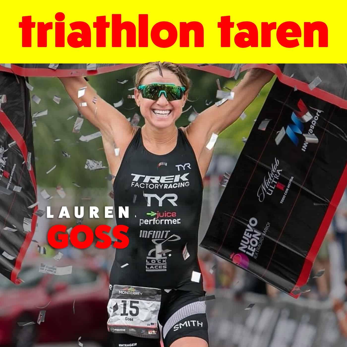 From depression to the podium | Pro Triathlete Lauren Goss