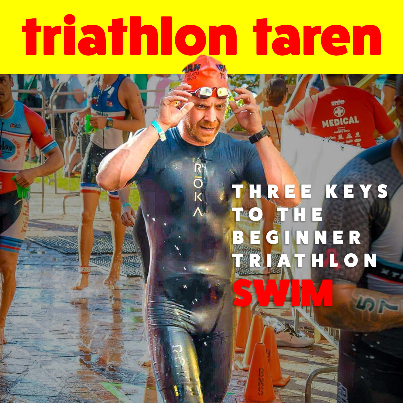 Three Keys to the Beginner Triathlon Swim