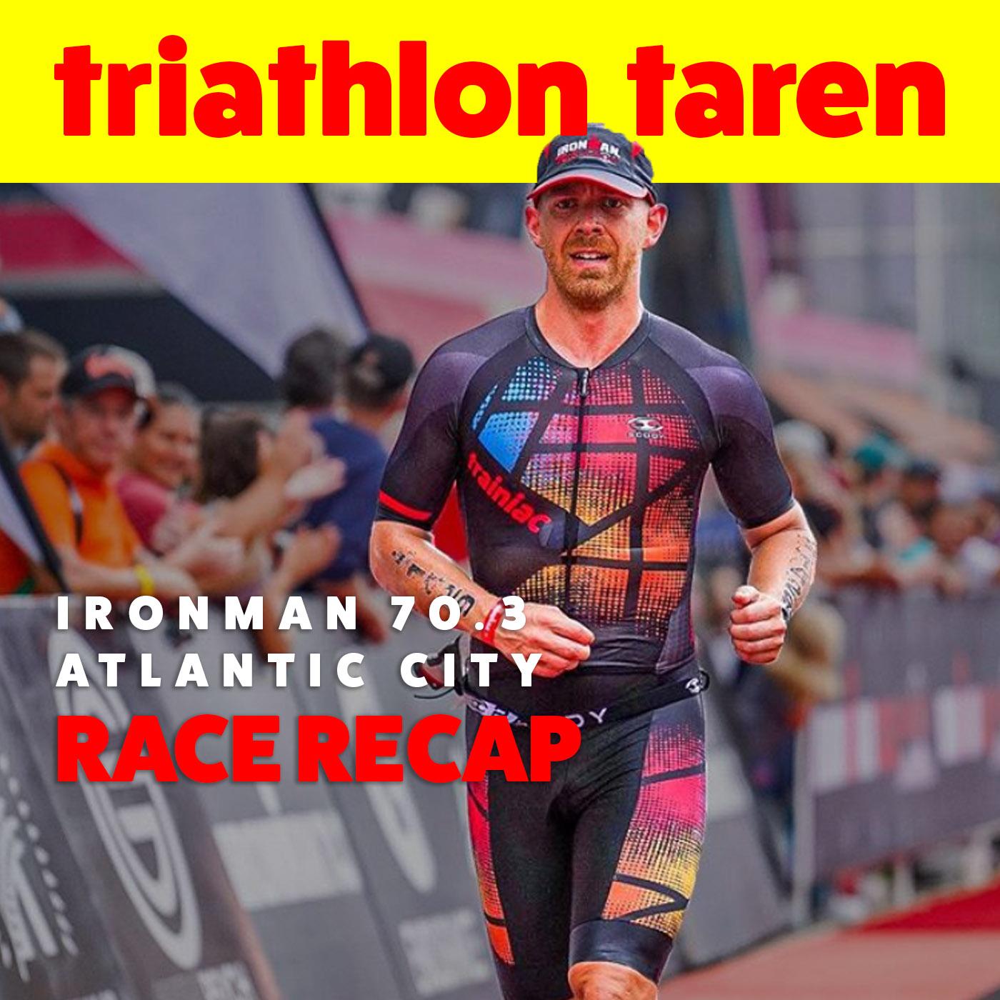 How I PR'ed in Chaos: Atlantic City 70.3 Half-Ironman Race Recap