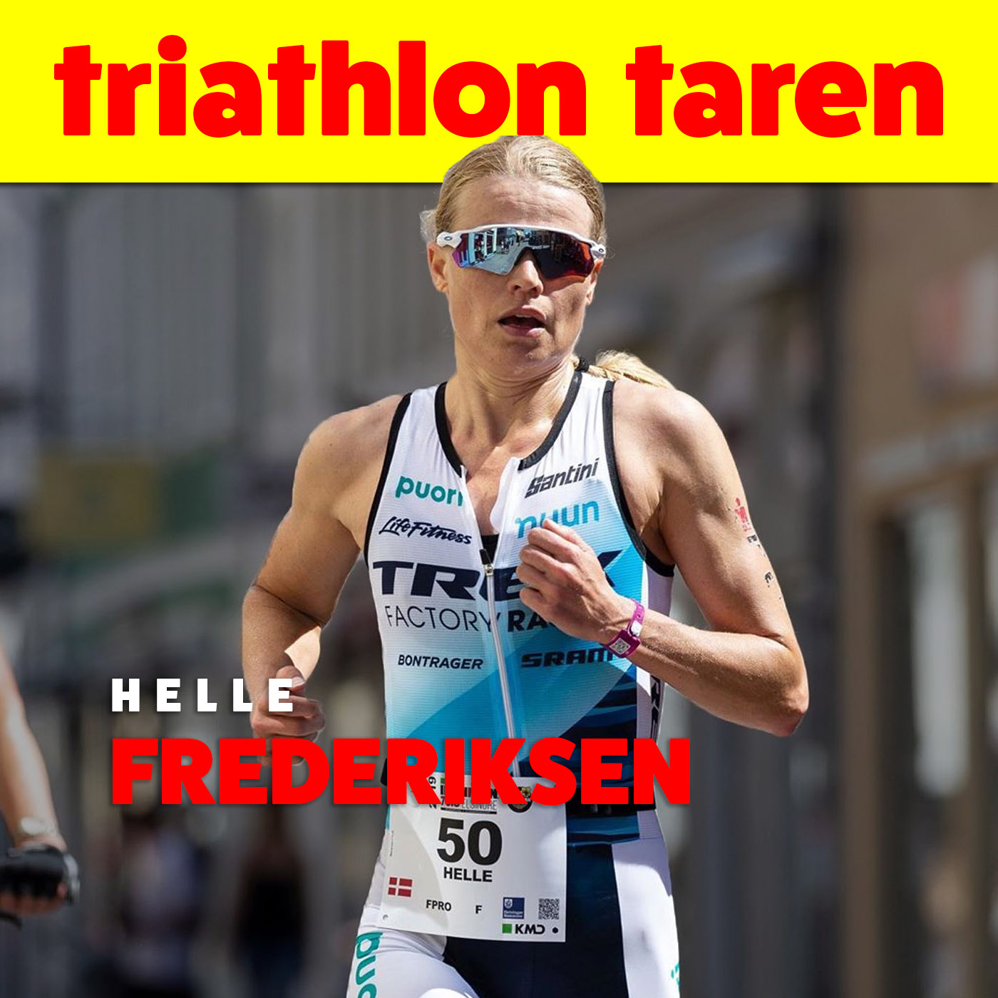 Half Ironman World Record Holder Helle Fredericksen