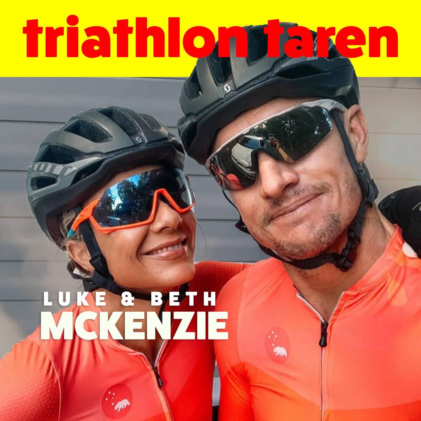 Pro Triathlon Power Couple Luke and Beth McKenzie