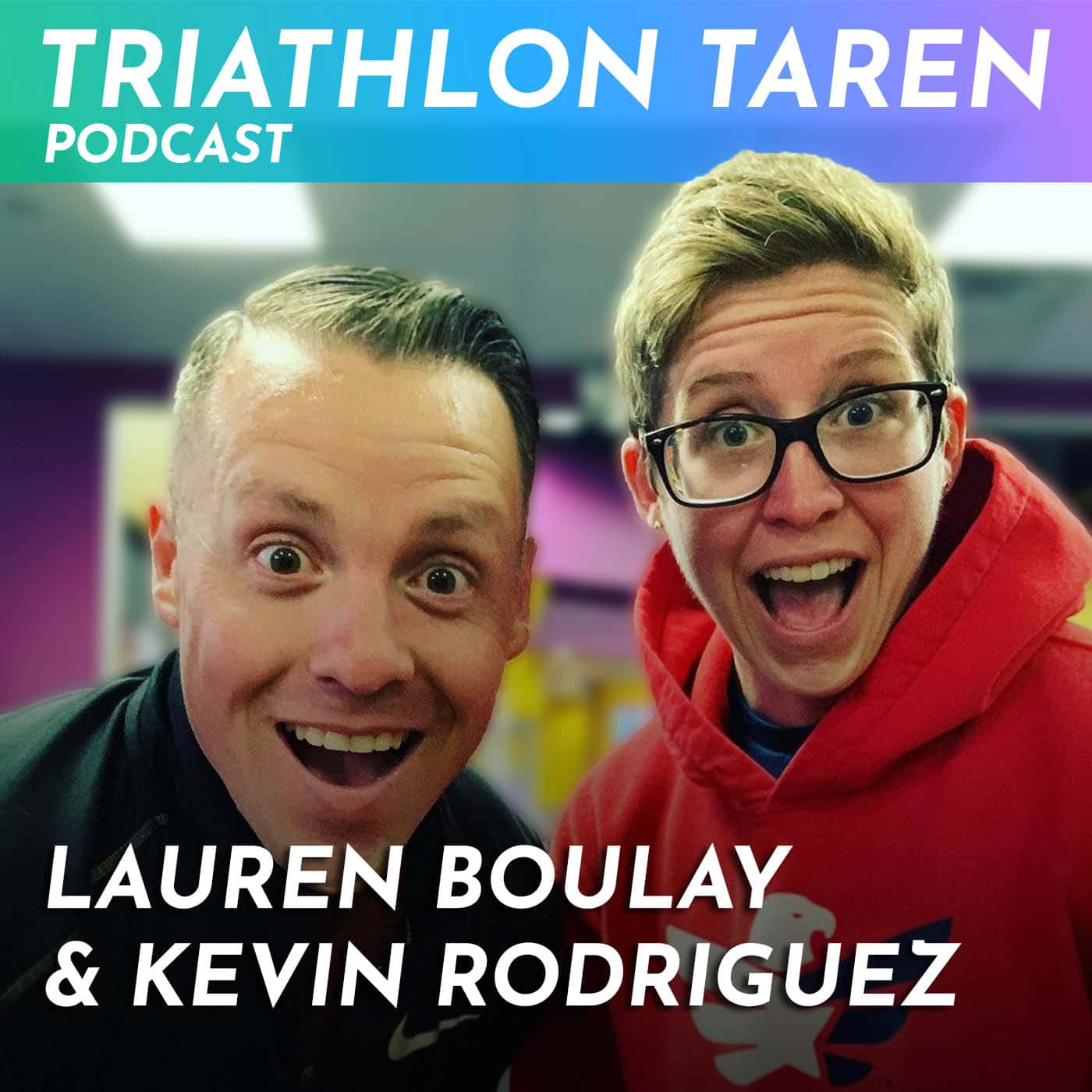Create your own race with Kevin Rodriguez and Lauren Boulay