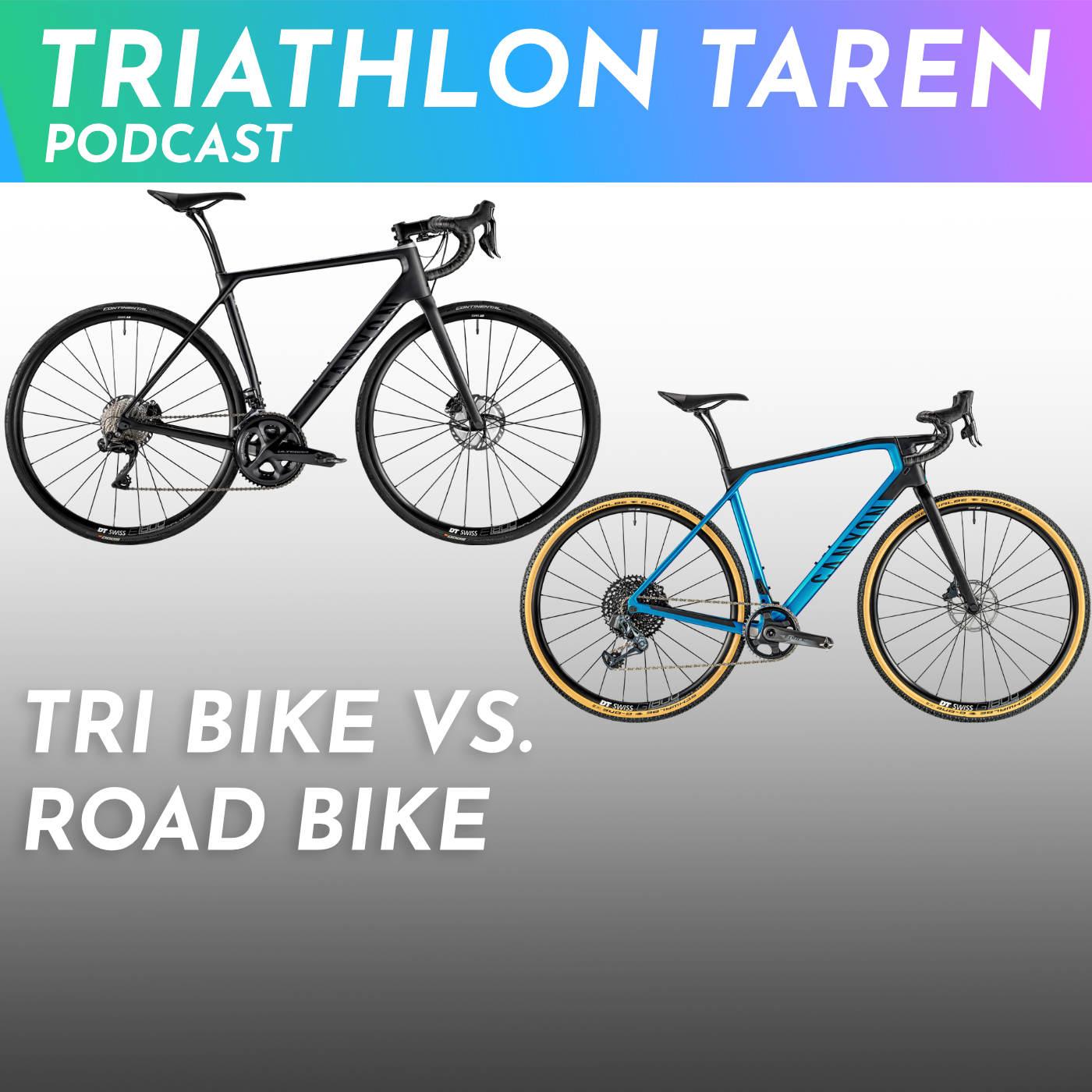 Tri Bike versus Road Bike